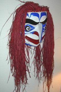 Nulth-Ma Clown Mask